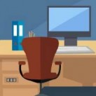 Blue Office Escape TheEscapeGames
