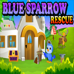 Blue Sparrow Rescue Games4King