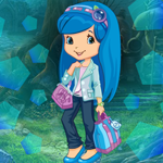 Blueberry Muffin Girl Escape Games4King