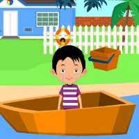 Boat Boy Rescue EscapeGamesToday