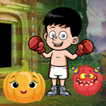 Boxing Boy Escape Games4King