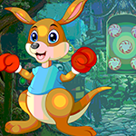 Boxing Kangaroo Rescue Games4King