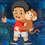 Boy And Monkey Escape Games4King