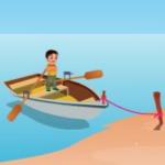 Boy Boat Rescue EscapeGamesToday