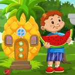 Boy Escape From Fruit House Games4King