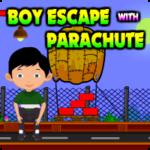 Boy Escape With Parachute AvmGames