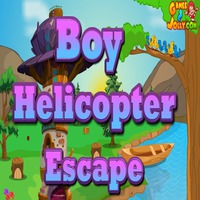 Boy Helicopter Escape Games2Jolly