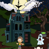 Boy Rescue From Ghost Games2Jolly