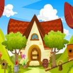 Brown Pet Dog Escape Games4King