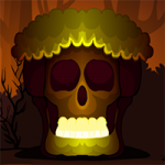 Brown Skull Forest Escape Games2Mad