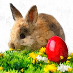 Bunnies And Eggs Amajeto