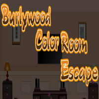 Burlywood Color Room Escape EscapeGamesToday