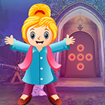Carefree Girl Escape Games4King
