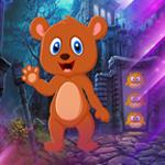 Cartoon Brown Bear Escape Games4King