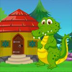 Cartoon Dinosaur Rescue Games4King