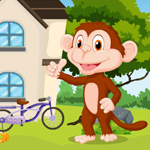 Cartoon Monkey Rescue Games4King