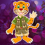 Cartoon Tiger Escape From Real Cave Games4King