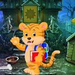 Cartoon Tiger Rescue Games4King