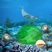 Casper Underwater Escape Games2Rule