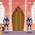 Castle With Knight Guards Escape GenieFunGames