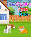 Cat Escape From Dog Pinky Girl Games