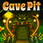 Cave Pit Escape Games4King