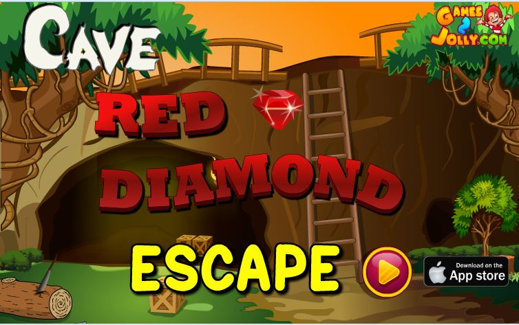 Cave Red Diamond Escape Games2Jolly