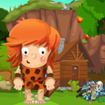 Caveman Rescue Games4King
