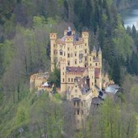 Chateau De Hohenschwangau Swap Puzzle OceanDesJeux