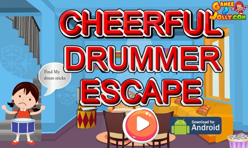 Cheerful Drummer Escape Games 2 Jolly