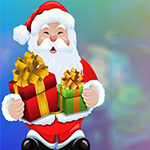 Cheerful Santa Claus Escape Games4King