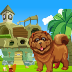 Chow Chow Dog Rescue Games4King