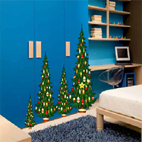 Christmas Blue House Escape 8BGames
