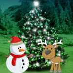 Christmas Forest Tree Decor Escape Games2Rule