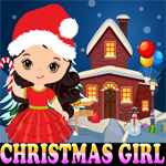 Christmas Girl Rescue Games4King