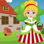 Christmas Princess Rescue Games4King