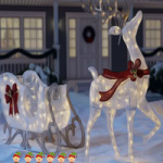 Christmas Yard Fun Escape FunEscapeGames