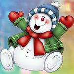 Chubby Snowman Escape Games4King