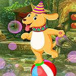 Circus Dog Escape Games4King