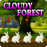Cloudy Forest Escape AvmGames