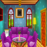 Colorful Log House Escape KNFGames
