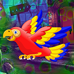 Colorful Parrot Escape Games4King