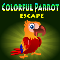 Colorful Parrot Escape Yal Games