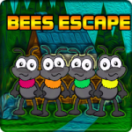 Colourful Bees Escape Games2Jolly
