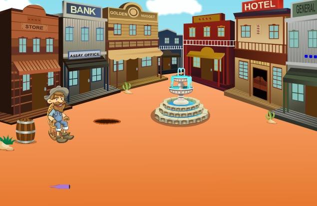 Cowboy Treasure Box Escape Games2Jolly