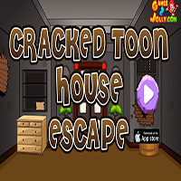 Cracked Toon House Escape Games2Jolly
