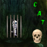 Creepy Cat Escape 8BGames