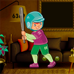 Cute Baseball Boy Escape AvmGames