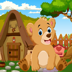 Cute Bear Rescue Games4King