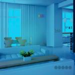 Cute Blue House Escape GamesClicker